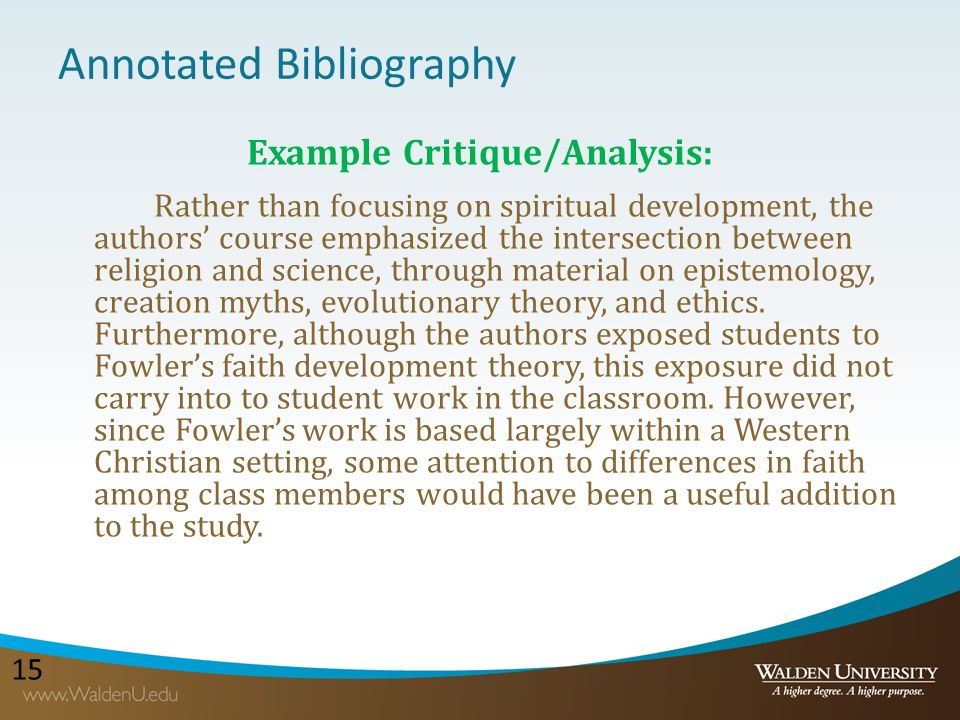 Zotero Annotated Bibliography Apa