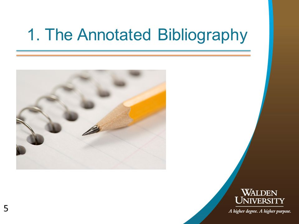 annoted bibliography 1 Consider the purpose of your annotated bibliography and/or your instructor's   several of the chapters in part 1 address the writing process and would serve to.