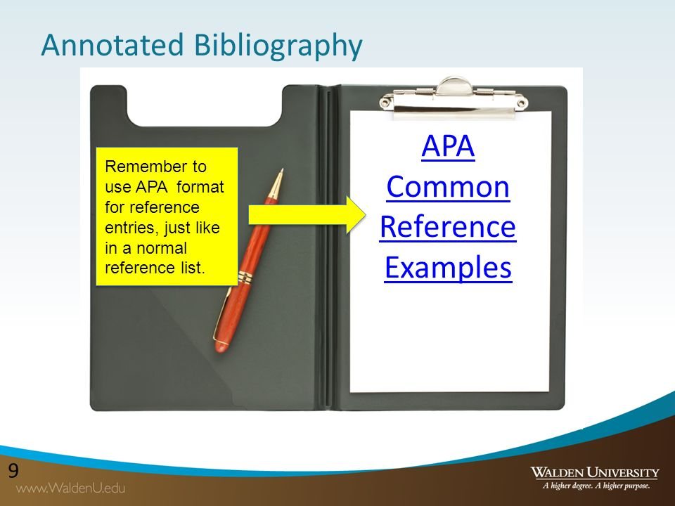 Annotated Bibliography Apa Ehow