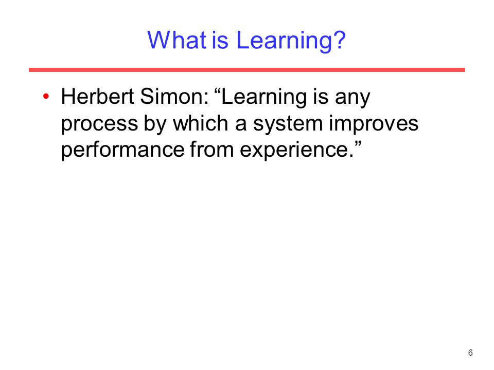 machine learning introduction ppt