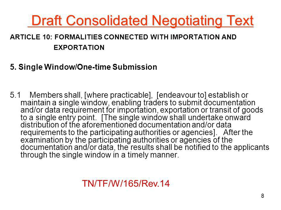 Draft Consolidated Negotiating Text