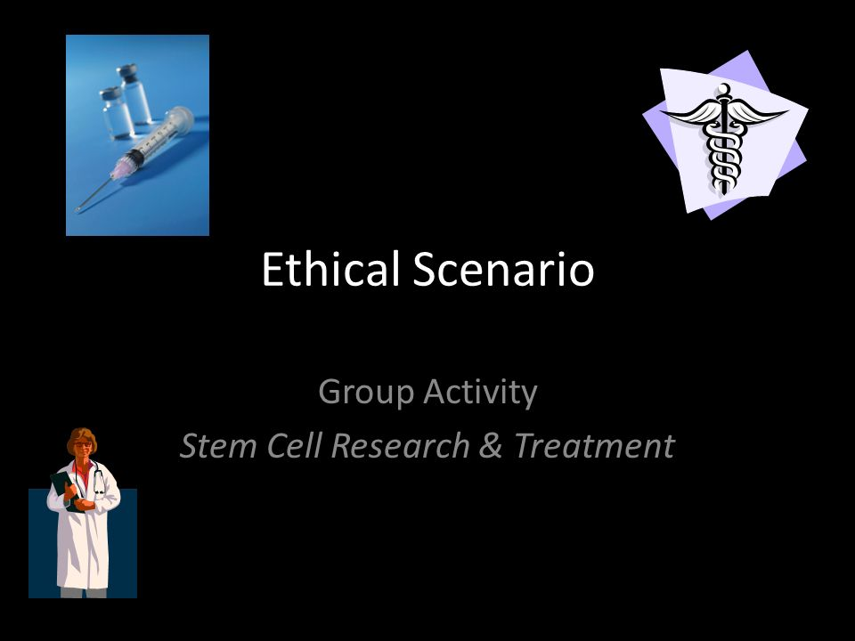 Group Activity Stem Cell Research & Treatment