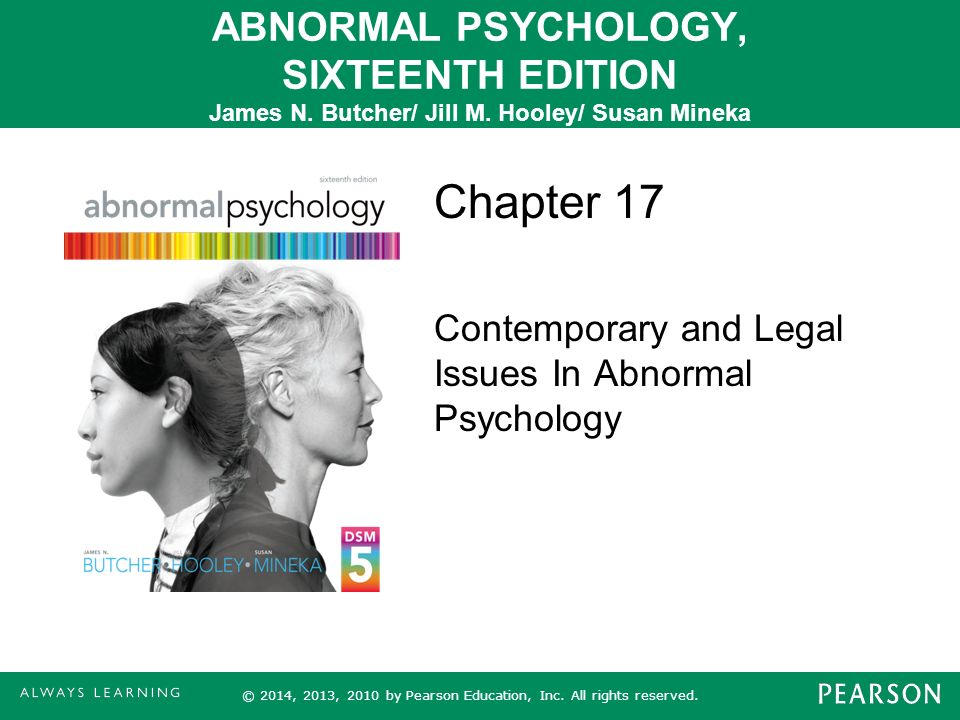 Chapter 17 contemporary and legal issues in abnormal psychology chapter 17 contemporary and legal issues in abnormal psychology fandeluxe Choice Image