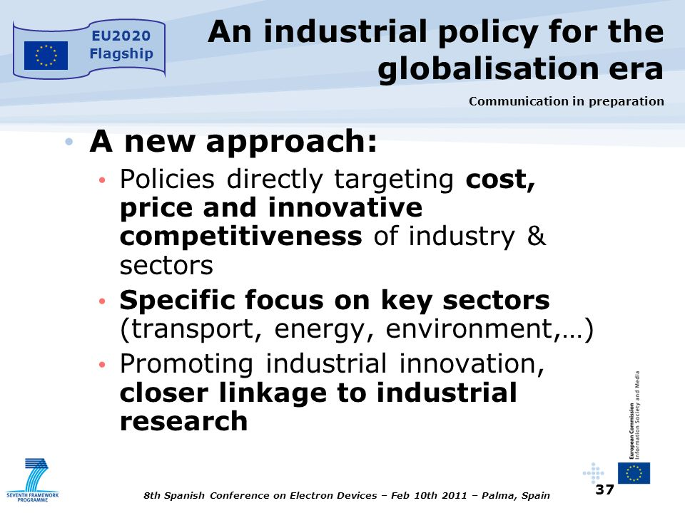 An industrial policy for the globalisation era