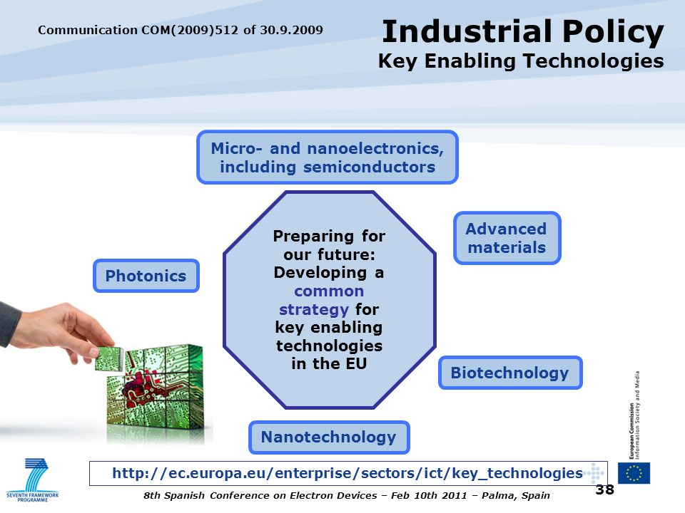 Industrial Policy Key Enabling Technologies
