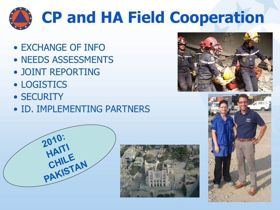 CP and HA Field Cooperation