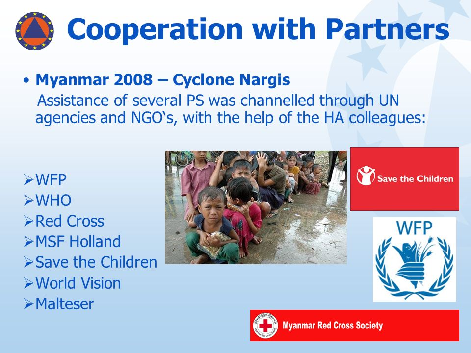 Cooperation with Partners