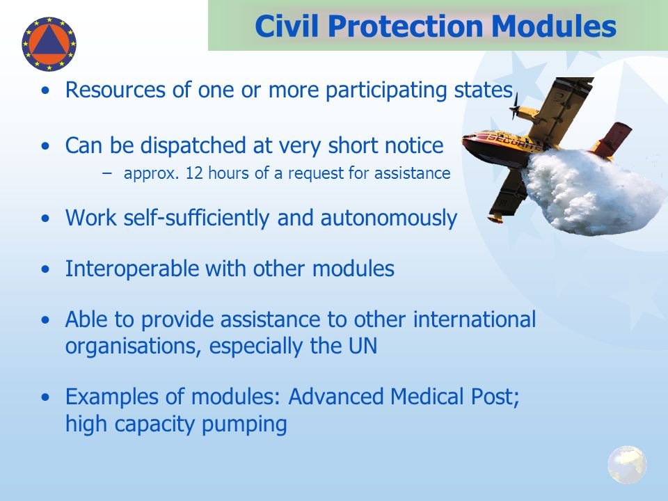 Civil Protection Modules