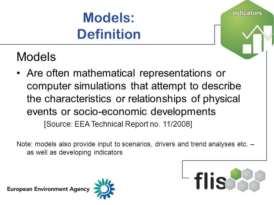 Models: Definition Models