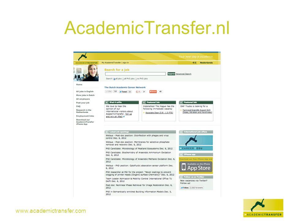 AcademicTransfer.nl