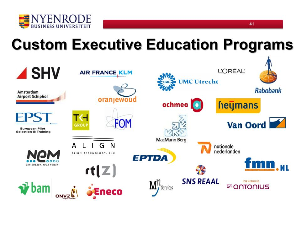 Custom Executive Education Programs