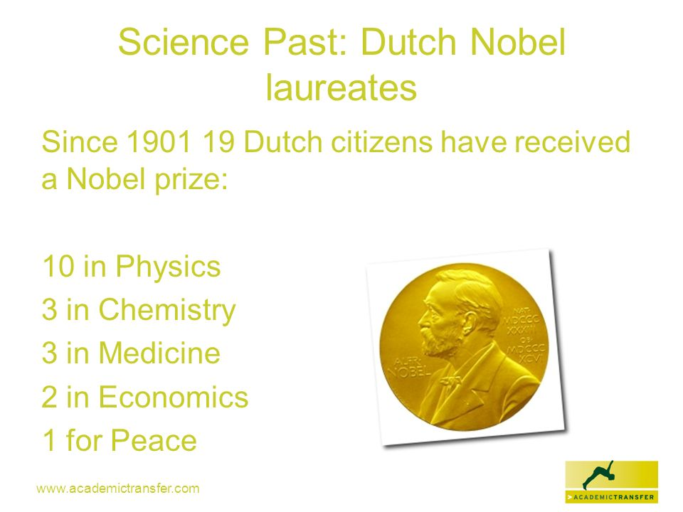 Science Past: Dutch Nobel laureates