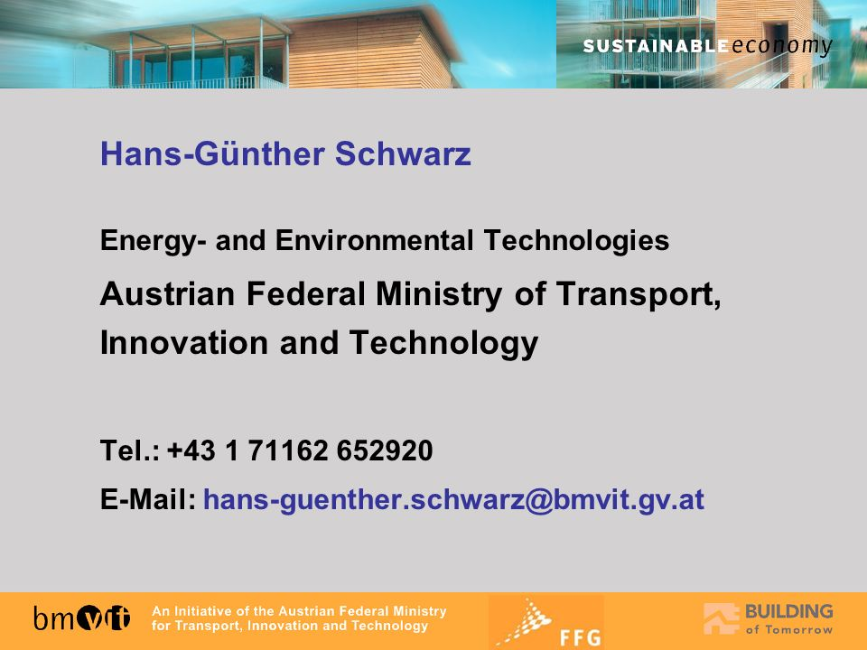 Austrian Federal Ministry of Transport, Innovation and Technology