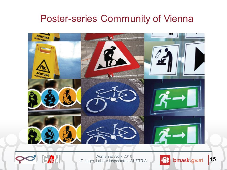 Poster-series Community of Vienna