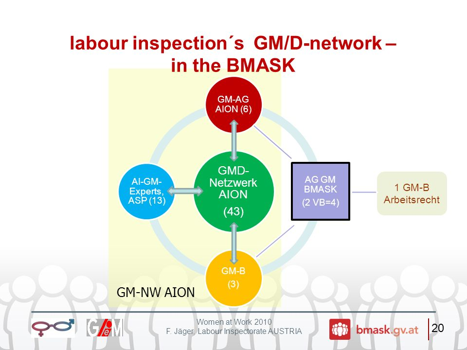 labour inspection´s GM/D-network – in the BMASK