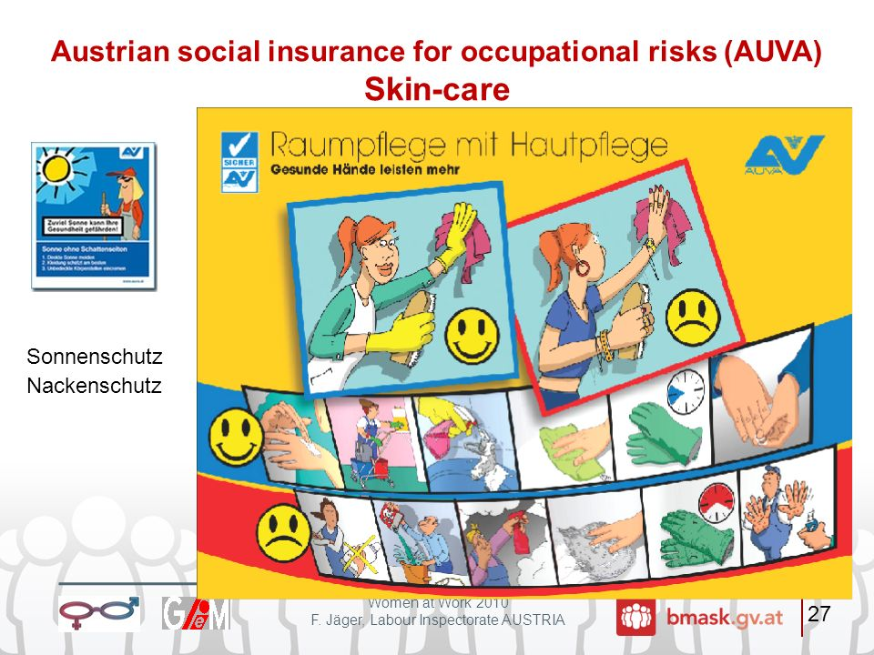 Austrian social insurance for occupational risks (AUVA) Skin-care