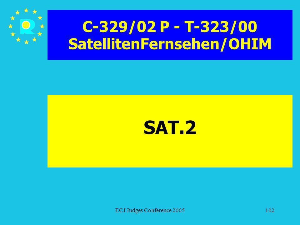 C-329/02 P - T-323/00 SatellitenFernsehen/OHIM