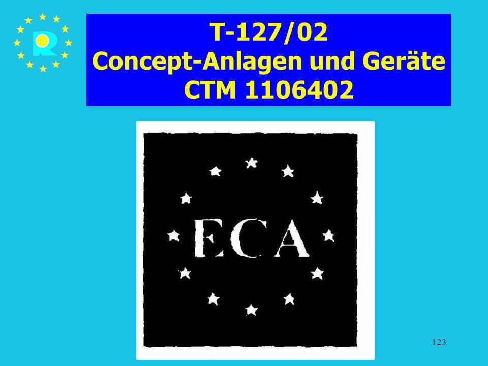 T-127/02 Concept-Anlagen und Geräte CTM 1106402