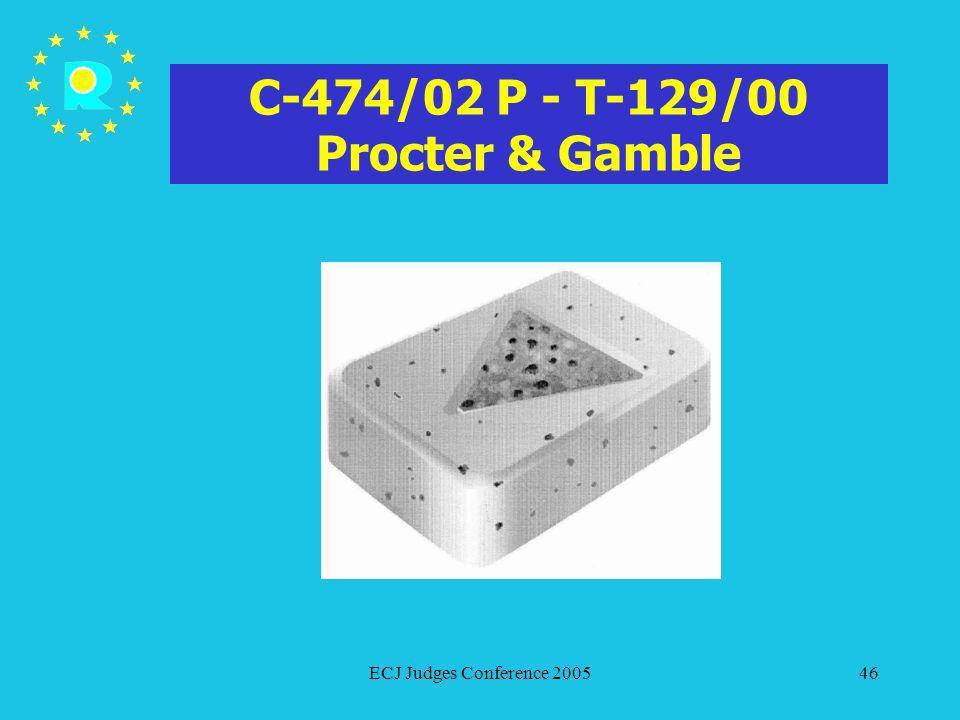 C-474/02 P - T-129/00 Procter & Gamble