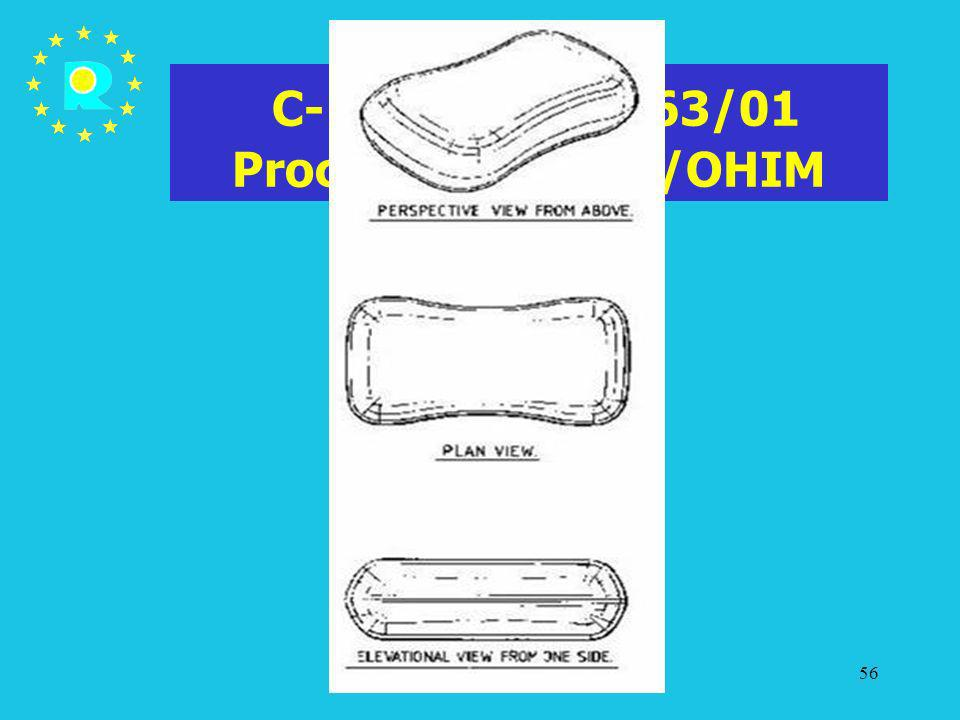C-107/03 P - T-63/01 Procter & Gamble/OHIM