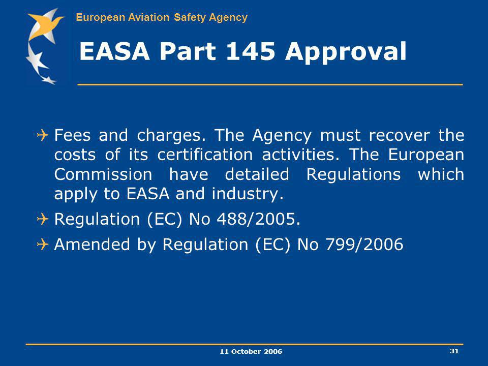 EASA Part 145 Approval
