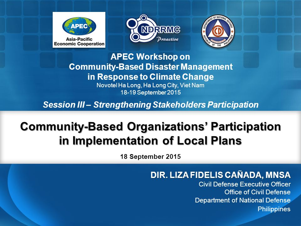 community participation in disaster management It follows on earlier research intended to measure how target communities worked together to address environmental hazards and explored the influence of amrai pari in communities bbc media action's climate asia survey showed low involvement in local disaster management planning as well as low.