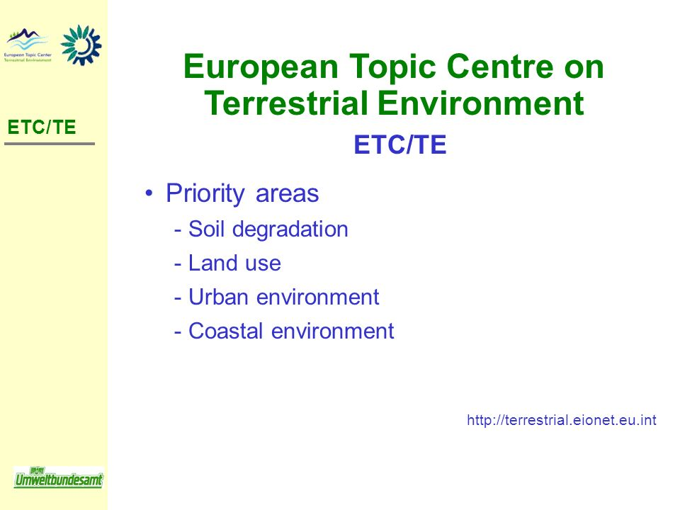 European Topic Centre on Terrestrial Environment