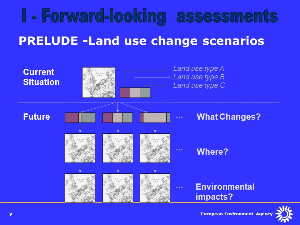 PRELUDE -Land use change scenarios
