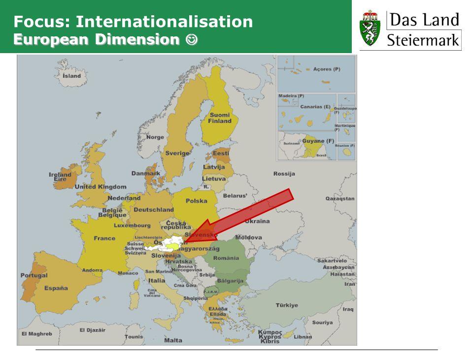 Focus: Internationalisation European Dimension 