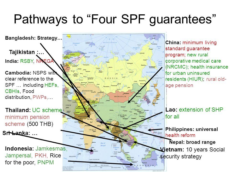 Pathways to Four SPF guarantees