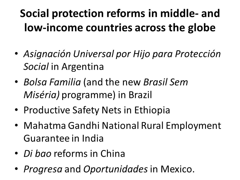 Asignación Universal por Hijo para Protección Social in Argentina