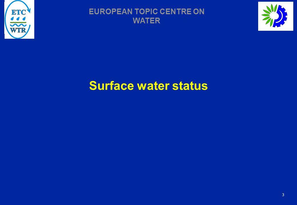 Surface water status
