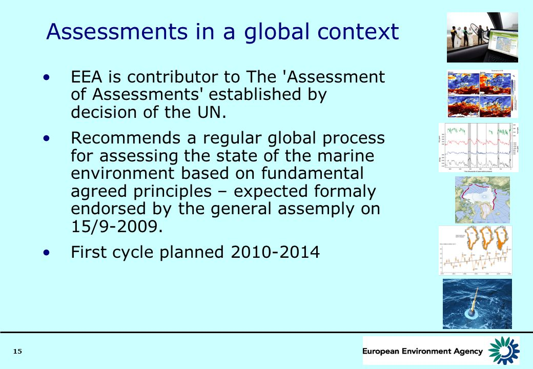 Assessments in a global context