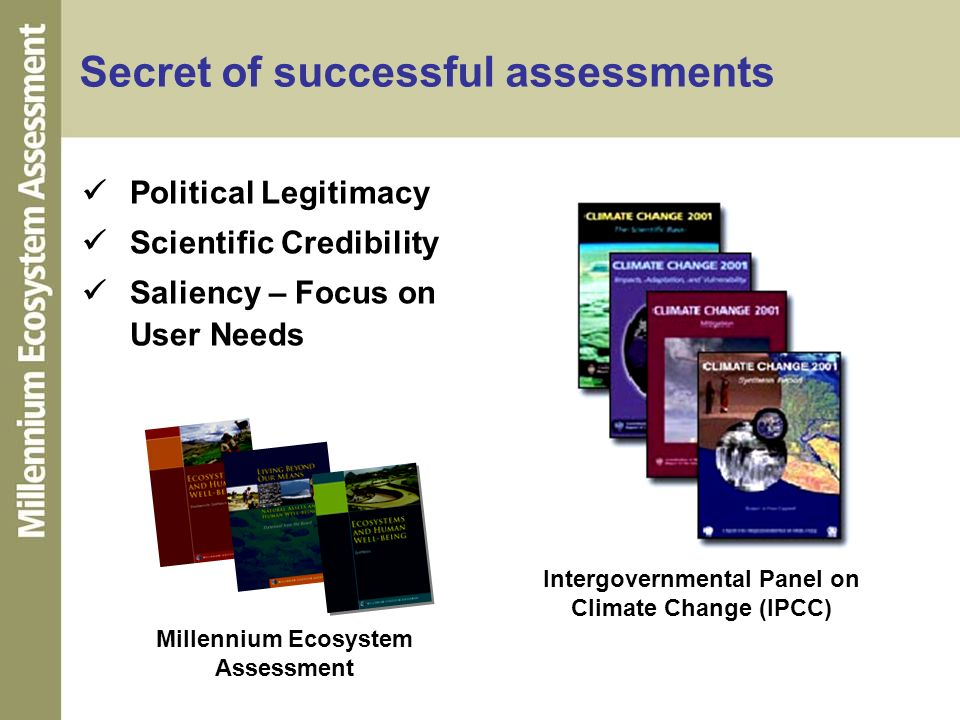 Secret of successful assessments