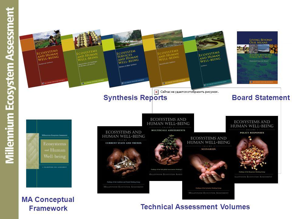 MA Conceptual Framework Technical Assessment Volumes