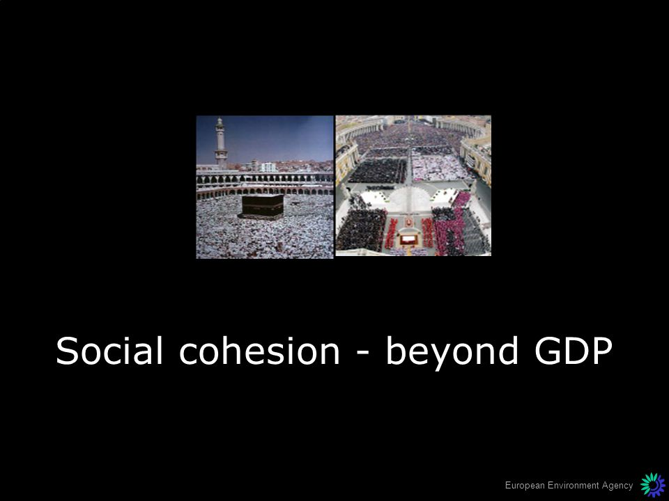 Social cohesion - beyond GDP