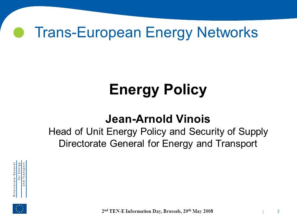 Trans-European Energy Networks