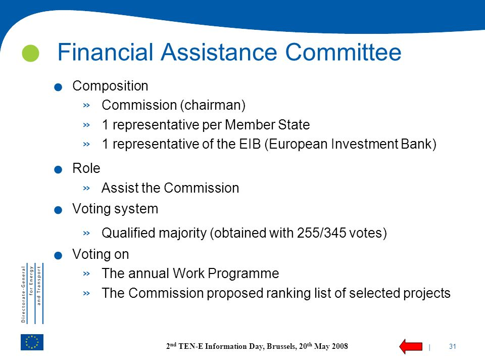 Financial Assistance Committee