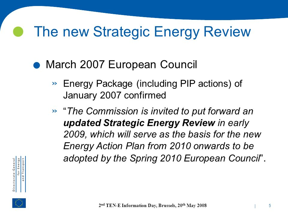 The new Strategic Energy Review