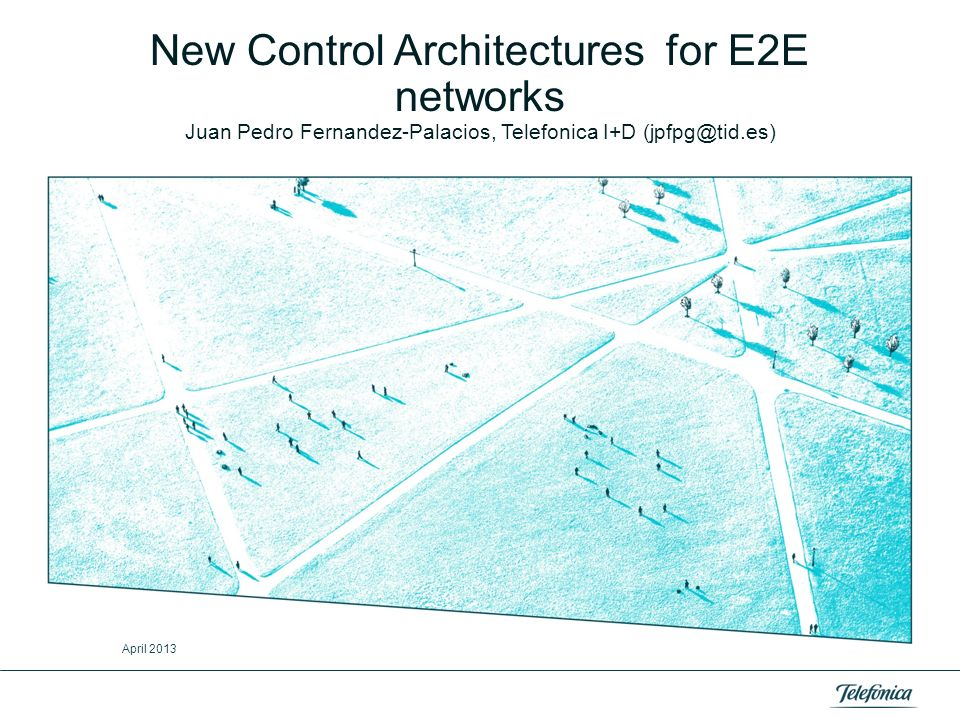 New Control Architectures for E2E networks