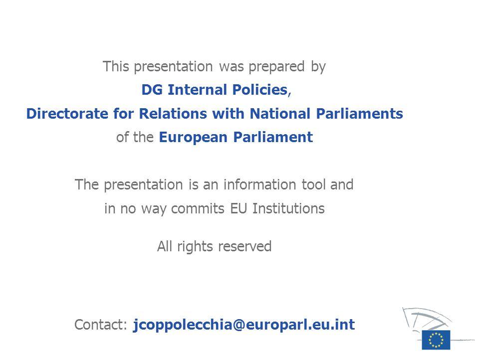 Contact: jcoppolecchia@europarl.eu.int