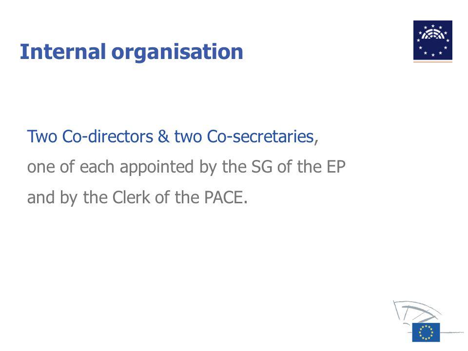 Internal organisation