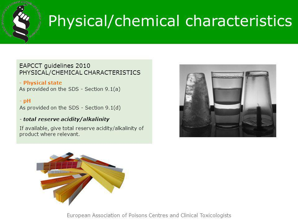 Physical/chemical characteristics