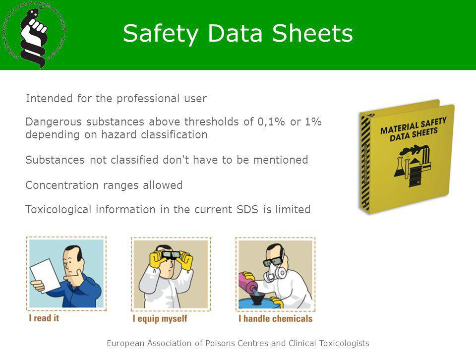 Safety Data Sheets Intended for the professional user