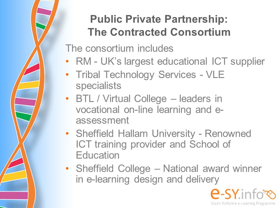 Public Private Partnership: The Contracted Consortium