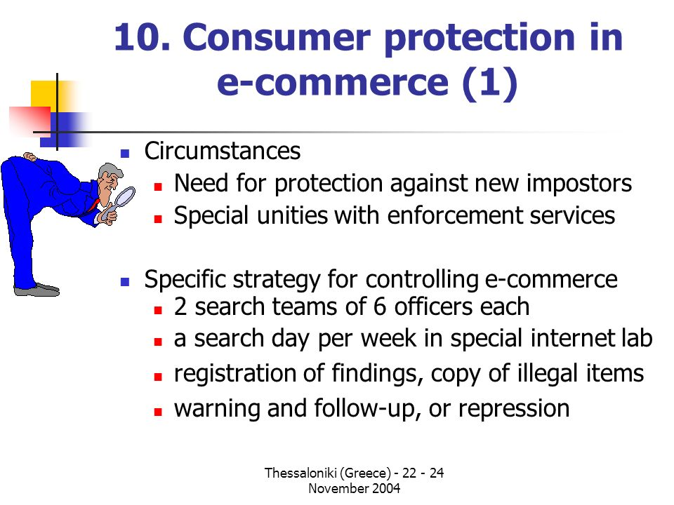 10. Consumer protection in e-commerce (1)