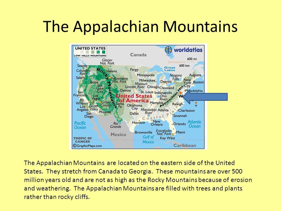 Appalachian Mountains Wikipedia Best Appalachian Mountains Map - Eastern us mountain ranges map