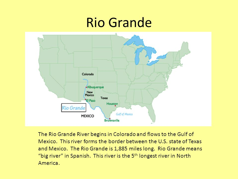 Exploring US Rivers And Mountain Ranges Ppt Video Online Download - Longest river in the us map