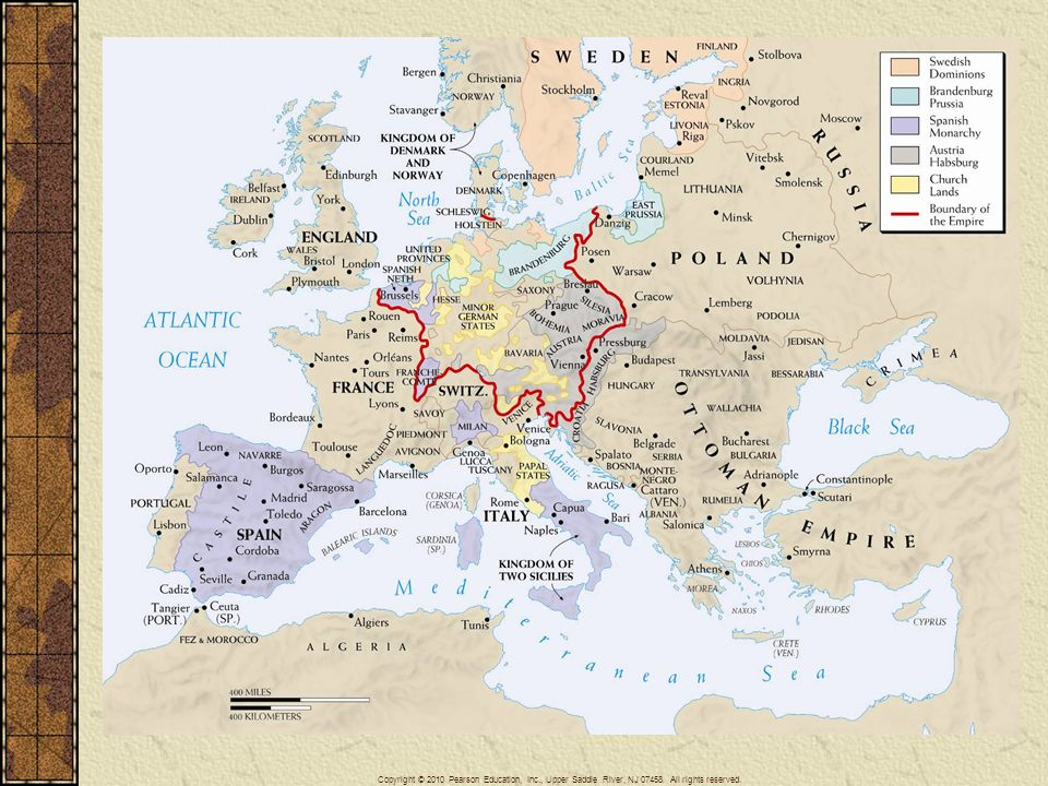 The Age Of Religious Wars Ppt Video Online Download - Map germany thirty years war