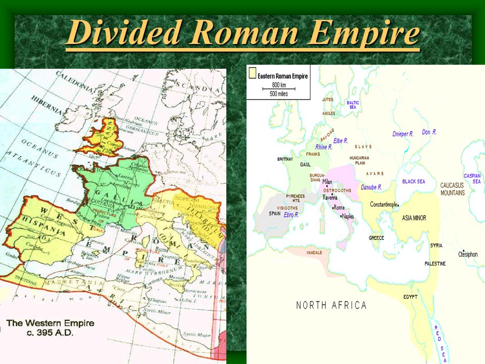 Divided Roman Empire
